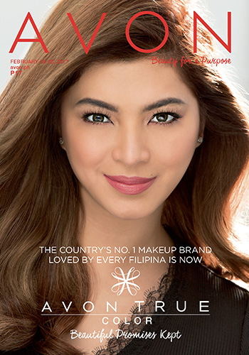 Avon Philippines February 16-28 brochure - Angel Locsin for Avon True Color
