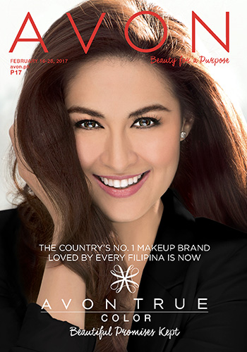 Avon Philippines February 16-28 brochure - Marian Rivera for Avon True Color