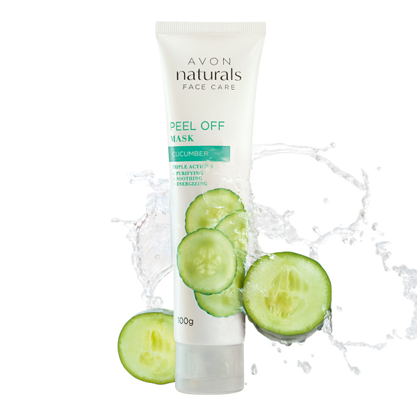 Avon Product Detail Naturals Cucumber Triple Action Peel Off