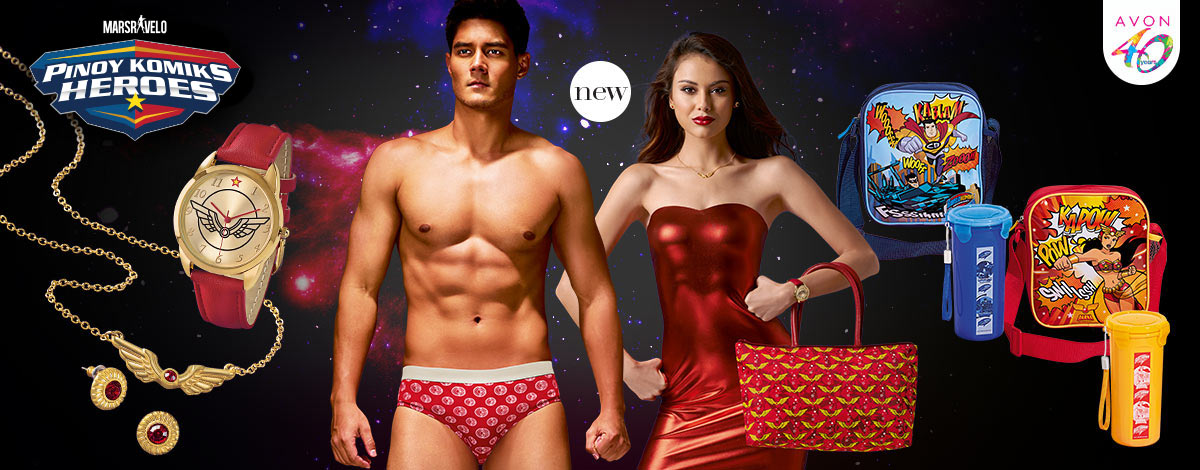 Be a superhero as Darna or Captain Barbell with the LIMITED EDITION Mars Ravelo Collection!