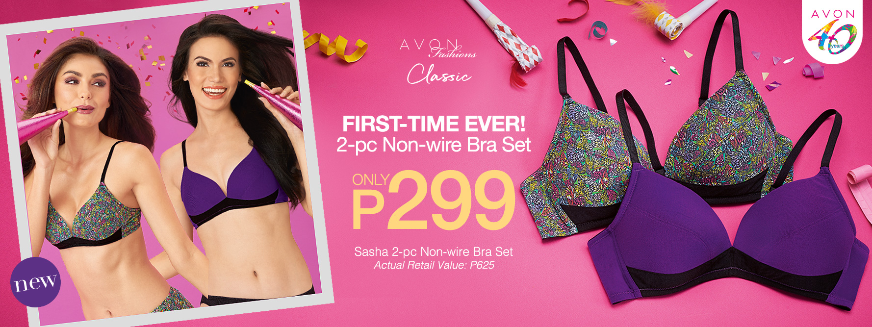 Score the Sasha Bra for P299 only!