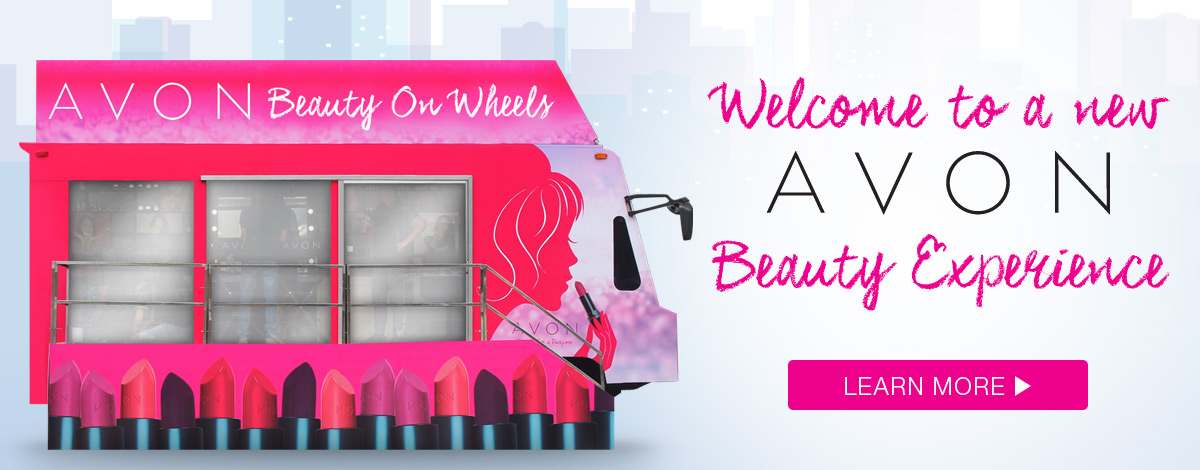 Avon Beauty on Wheels is now on tour