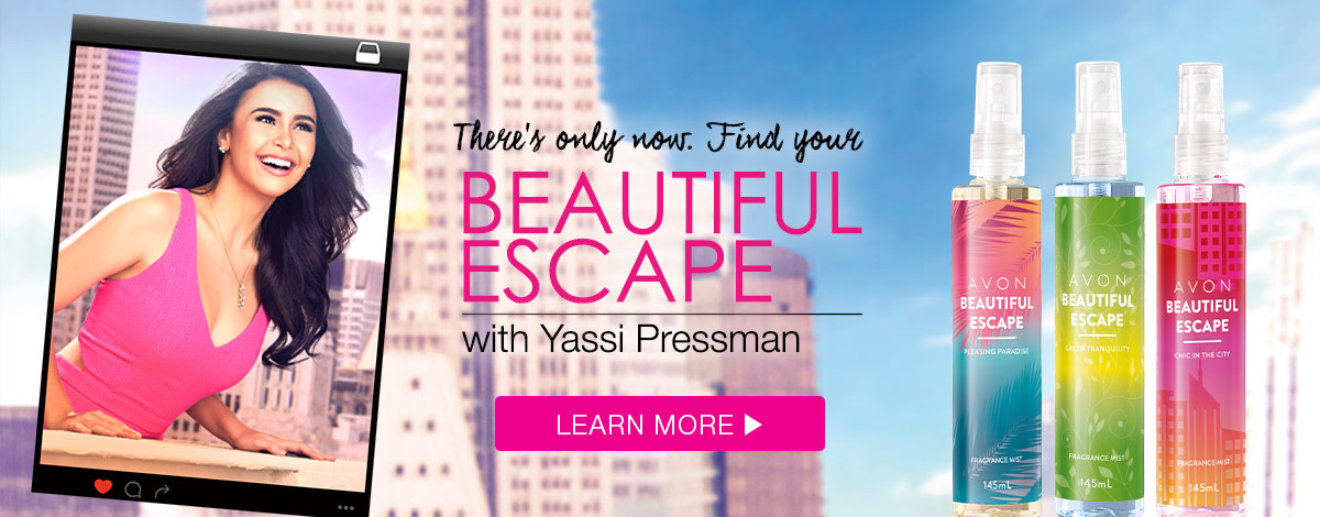 Find your Beautiful Escape with Yassi Pressman