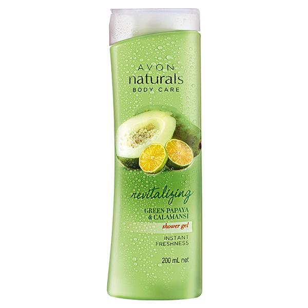Naturals Revitalizing Green Papaya & Calamansi Shower Gel 200 mL