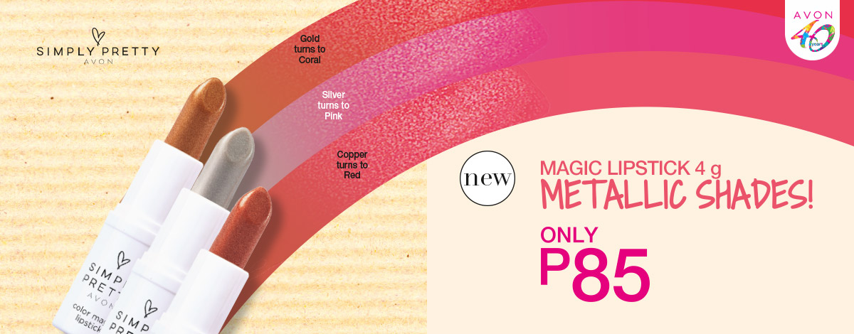 New Magic Lipstick Metallic Shades!