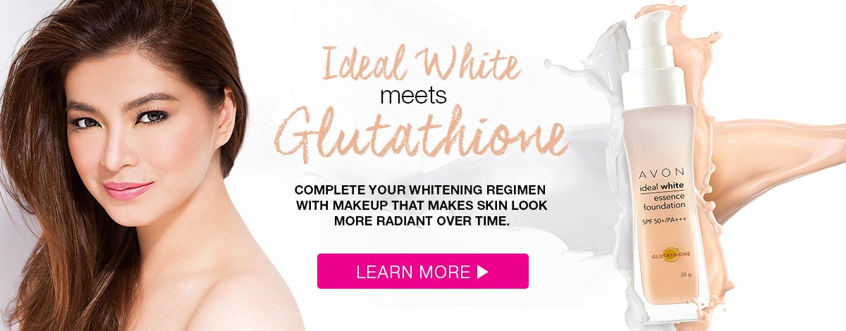Ideal White meets Glutathione for flawless, whitening coverage