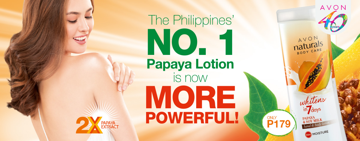 The Philippines' No. 1 Papaya Lotion is now more powerful!