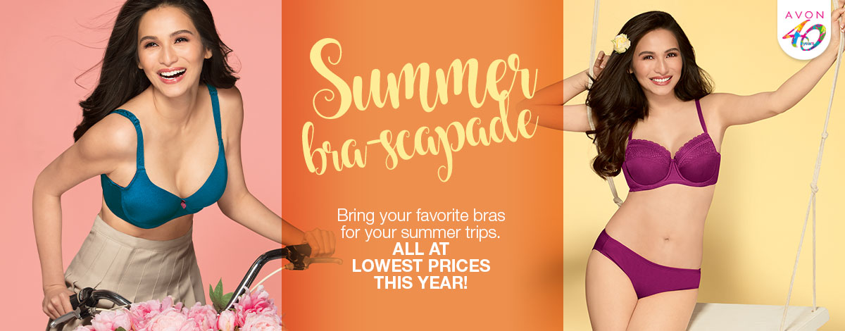 Bring your favorite bras for your summer trips, all at LOWEST PRICES THIS YEAR!