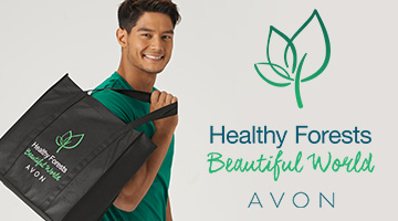 Avon's Newest Initiative Hopes To Restore Beauty In Our Forests