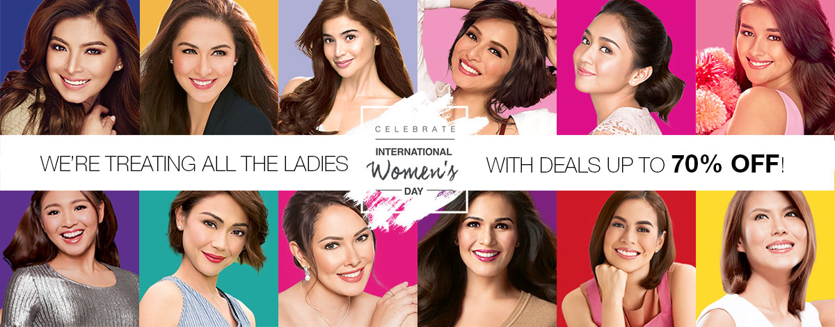 Get up to 70% off on AvonShop.ph this International Women's Month!