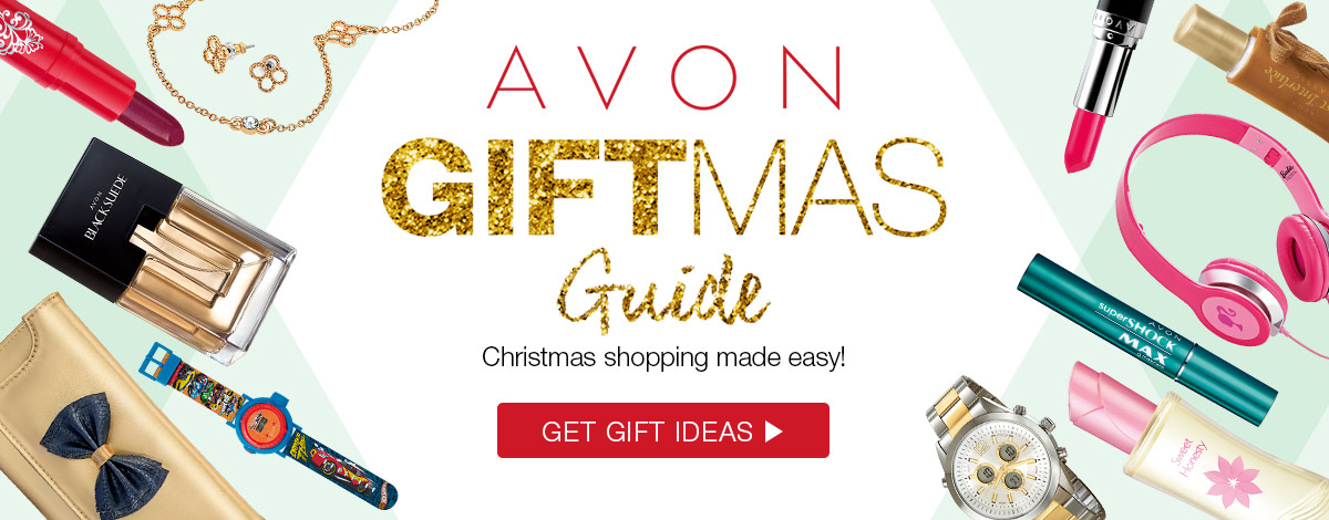 Start you Christmas shopping now with the Avon GIFTmas Guide!