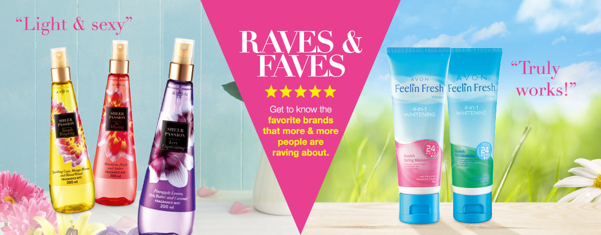 Check out Customers' Raves and Faves