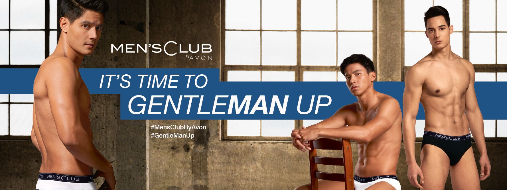 It's to Gentleman UP with Men's Club