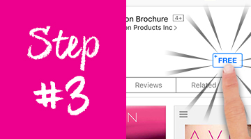 How to download the Avon Brochure App on the App Store - step 3