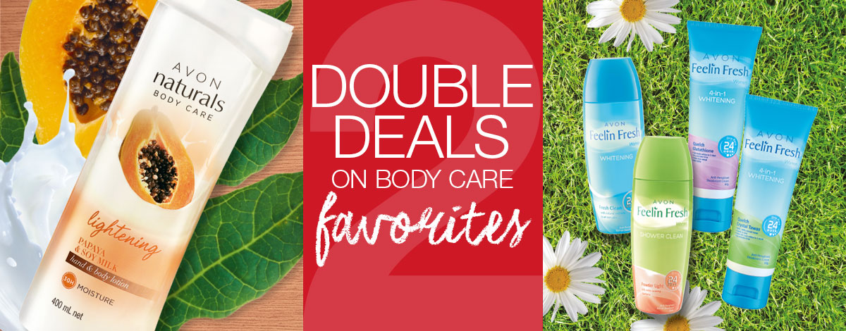 Save more with double deals from Body Care Favorites