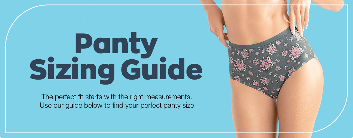 Panty Sizing Guide